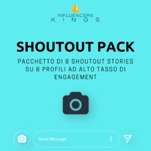 Prodotto Shoutout Pack