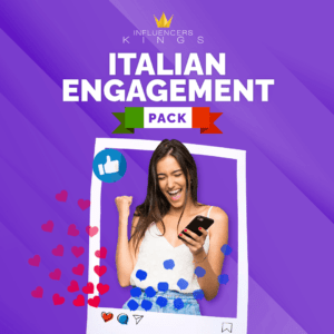 Italian Engagement Pack - Influencers Kings