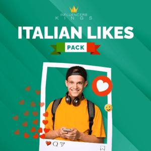 Italian Likes Pack - Influencers Kings